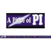 McDonald Publishing® 4th - 9th Grades Straight Bulletin Board Border, A Piece Of Pi