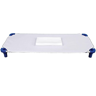 Mahar Cot Sheet, White