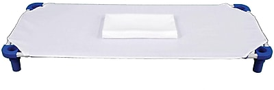 Mahar Cot Sheet, White