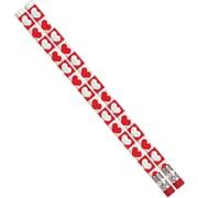 Musgrave Pencil Company Hearts O Glitter Pencil, 96/Pack (MUS1153D)