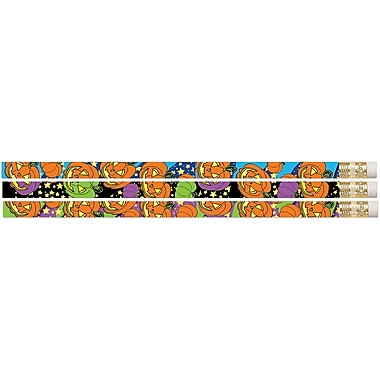 Musgrave Pencil Company Halloween Pencil, 12/Pack (MUS2215D)