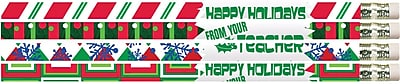 Happy Holidays From Your Teacher Pencil, Pack of 12