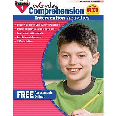 Newmark Learning Everyday Comprehension Intervention Activities Book, Grade 4 (NL-0412)