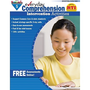 Newmark Learning™ Everyday Comprehension Intervention Activities Book, Grades 5th