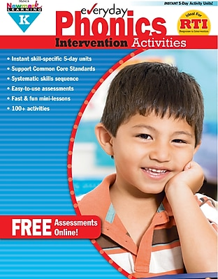Everyday Intervention Activities for Phonics, Grade K