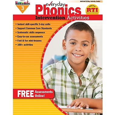 Newmark Learning™ Everyday Phonics Intervention Activities Book, Grades 3rd