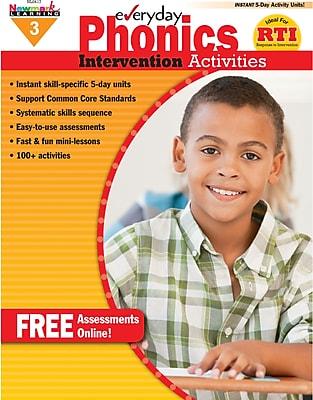 Everyday Intervention Activities for Phonics, Grade 3