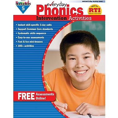 Newmark Learning™ Everyday Phonics Intervention Activities Book, Grades 5th