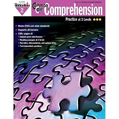 Newmark Learning Common Core Comprehension Practise Book