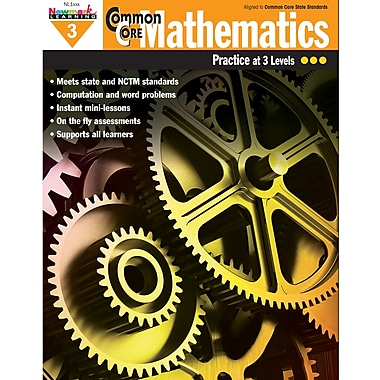 Newmark Learning Common Core Mathematics Practice Grades 3rd