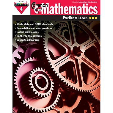 Newmark Learning Common Core Mathematics Practice Grades 4th