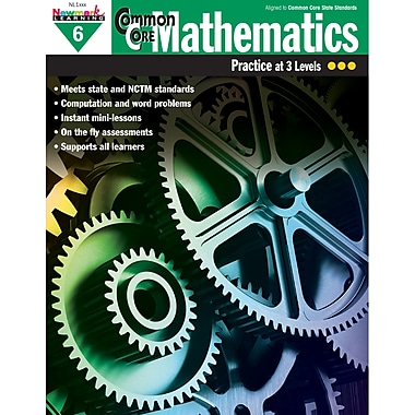 Newmark Learning Common Core Mathematics Practice Grades 6th