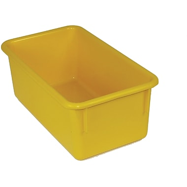 Romanoff Products Stowaway® No Lid Container, Yellow (ROM12103)
