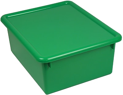 Romanoff Products Stowaway® Letter Box With Lid, Green