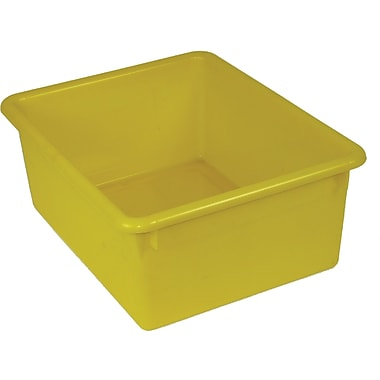 Romanoff Products Stowaway® Letter Box No Lid, Yellow