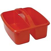 "Romanoff Large Plastic Utility Caddy 12.75""H x 11.25""W, Red (ROM26002)"