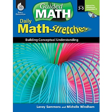 Shell Education Daily Math Stretches Book - Building Conceptual Understanding, Levels 3-5 (SEP50786)