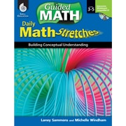Shell Education® Daily Math Stretches Book - Building Conceptual Understanding, Levels 3-5