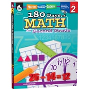Shell Education® 180 Days of Math Book - Practice, Assess, Diagnose, Grades 2nd