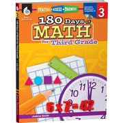 Shell Education® 180 Days of Math - Practice, Assess, Diagnose, Grades 3rd
