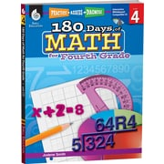 Shell Education® Practice, Assess, Diagnose: 180 Days of Math Book, Grades 4th