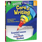 Shell Education® Getting to the Core of Writing Essential Lessons Book and CD, Grades 1st