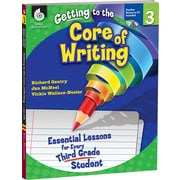 Shell Education® Getting to the Core of Writing Essential Lessons Book, Grades 3rd