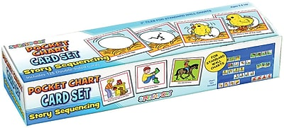 Lauri® Toys Story Sequencing Wall Pocket Chart Card Set
