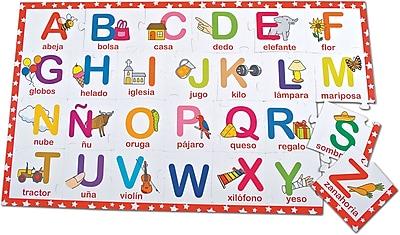 Smart Play® Bilingual Puzzle, Alphabet, English/Spanish