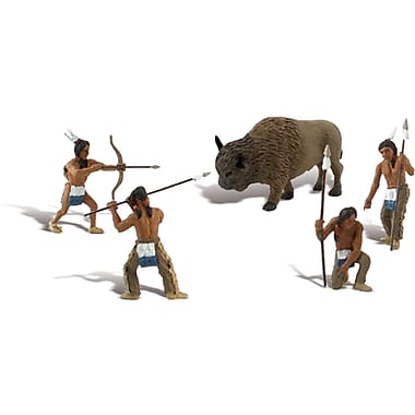 Woodland Scenics Native American Hunt Scene Setters