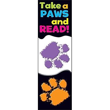 Trend Enterprises Take a Paws Bookmark, Grades Kindergarten - 6th