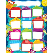 Year 'Round Houses (Owl-Stars!™) Learning Chart