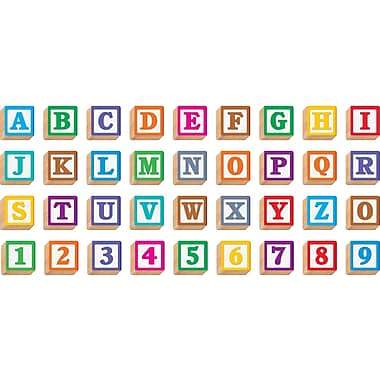 Trend Enterprise – Ensemble de blocs 3D Ready Letters T-79851, couleurs variées (T-79851)