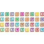 TREND Enterprises T-79851 3-D Blocks Ready Letters, Assorted