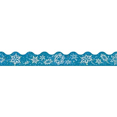 Trend Enterprises® Scalloped Terrific Trimmer, Snowflakes, 10/Pack (T-92403)