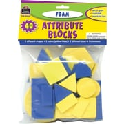 Teacher Created Resources® Foam Attribute Blocks, Grades preschool+