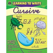 Teacher Created Resources® Learning to Write Cursive Book, Grades 2nd - 3rd
