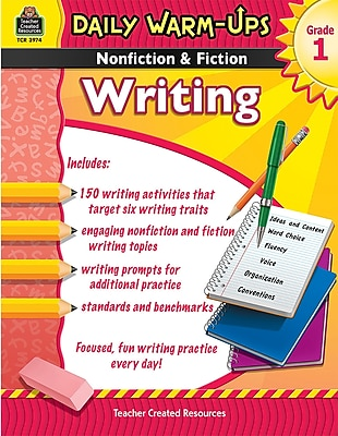 Daily Warm-Ups: Nonfiction & Fiction Writing Book, Grade 1