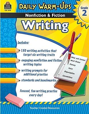 Daily Warm-Ups: Nonfiction & Fiction Writing Book, Grade 2