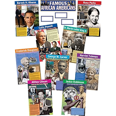 Teacher Created Resources Bulletin Board Display Set, Famous African Americans (TCR4752)