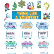 """Think Like a Scientist Mini Bulletin Board 21""""x6"""" Gr K & up"""