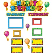 "Happy Birthday Mini Bulletin Board 16x5-1/2"" Grades K and up"