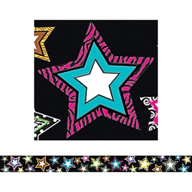 Teacher Created Resources Straight Border Trim, Fancy Stars, 12/Pack (TCR5218)