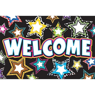 Teacher Created Resources® Fancy Stars Welcome Postcard