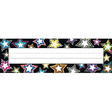 Teacher Created Resources® Infant - 6th Grades Name Plate, Fancy Stars