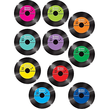Teacher Created Resources Accents, School Rocks Records, 30/Pack (TCR5269)