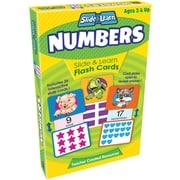 Teacher Created Resources® Numbers Slide & Learn Flash Cards, Grades Babies/Toddlers-Kindergarten