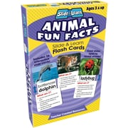 Teacher Created Resources® Animal Fun Facts Slide and Learn Flash Cards, Grades Babies/Toddlers - K