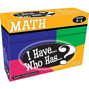 Teacher Created Resources® I Have, Who Has Math Game, Grades 5th - 6th