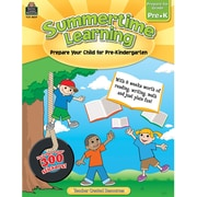 Teacher Created Resources® Summertime Learning Book, Grades Pre Kindergarten